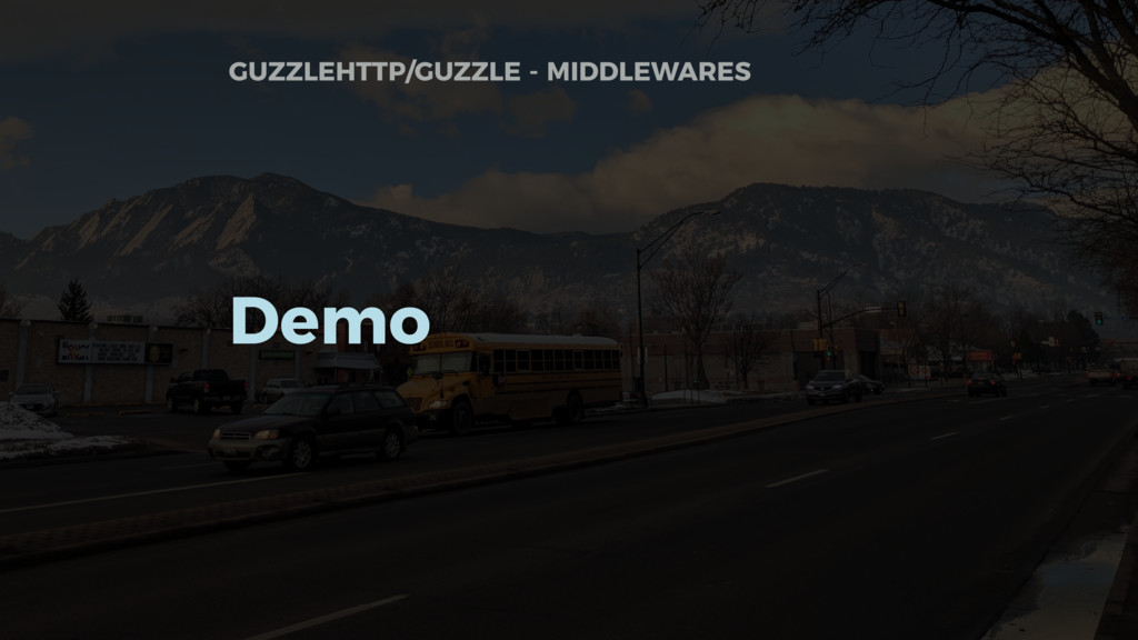 GUZZLEHTTP/GUZZLE - MIDDLEWARES Demo