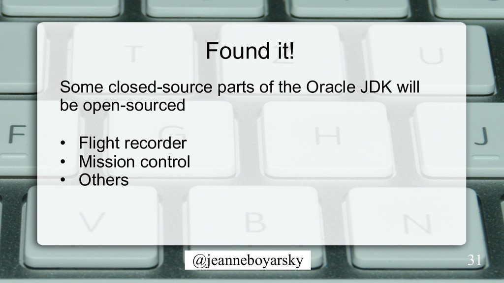 @jeanneboyarsky Found it! 31 Some closed-source...
