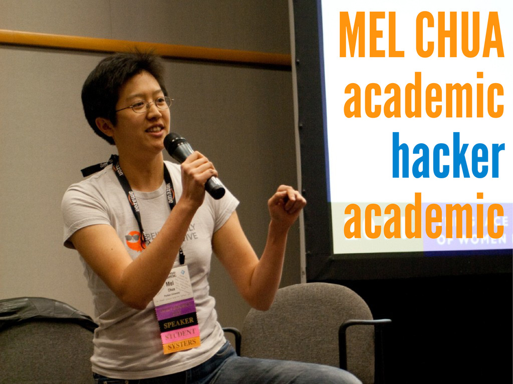 MEL CHUA academic hacker academic