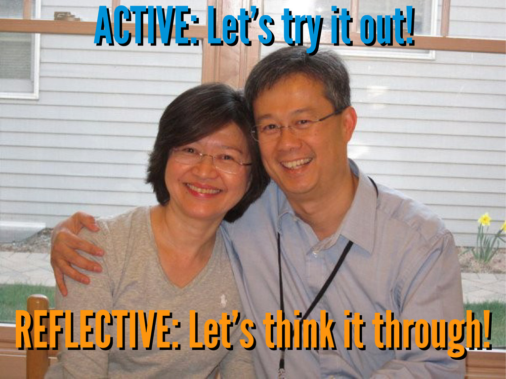 ACTIVE: Let's try it out! ACTIVE: Let's try it ...