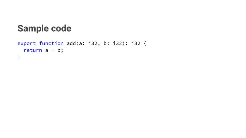 Sample code FYQPSUGVODUJPOBEE BJCJ ...