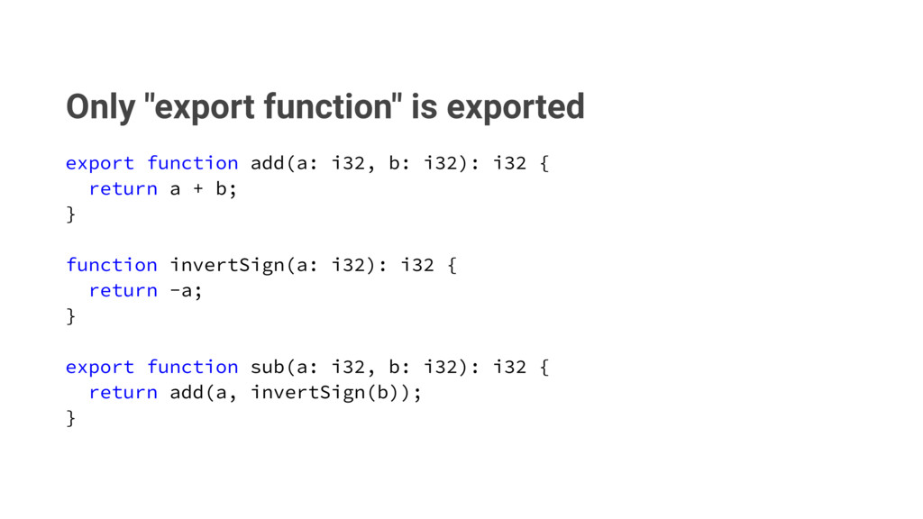 """Only """"export function"""" is exported FYQPSUGVODU..."""