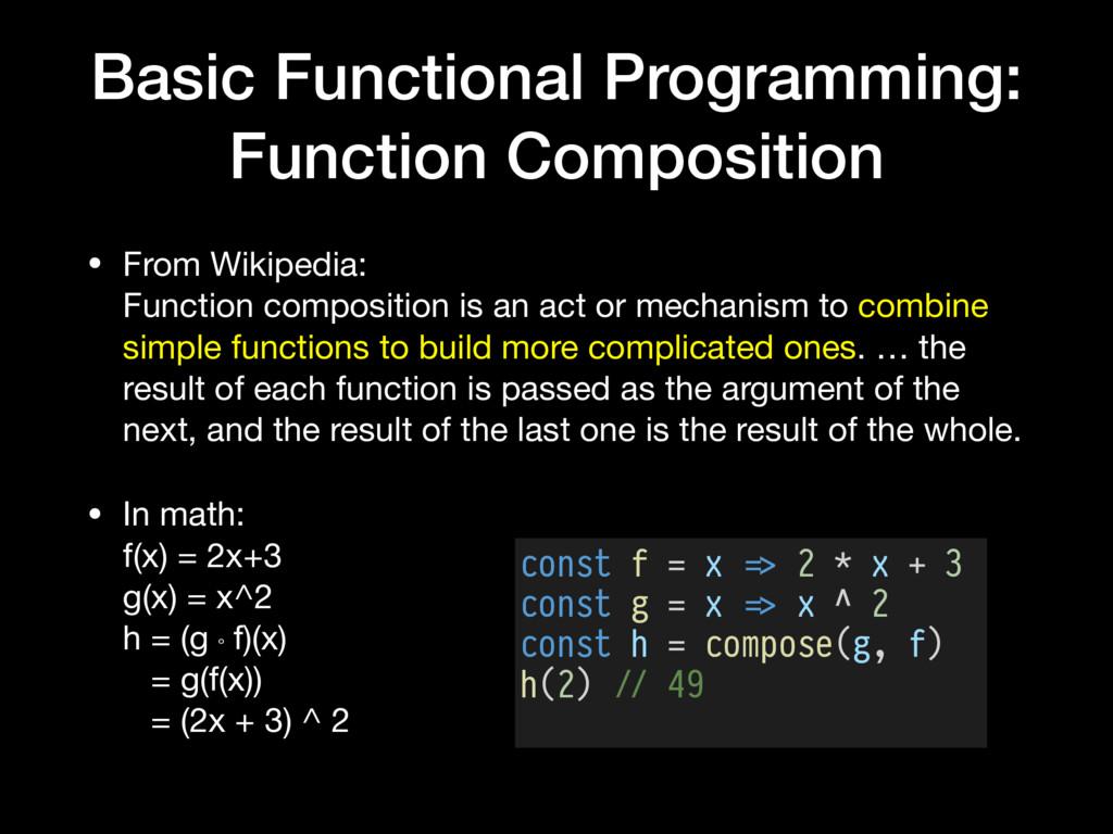 Basic Functional Programming: Function Composit...
