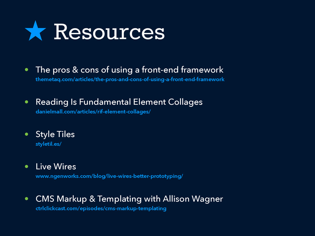 ˒ Resources • The pros & cons of using a front-...