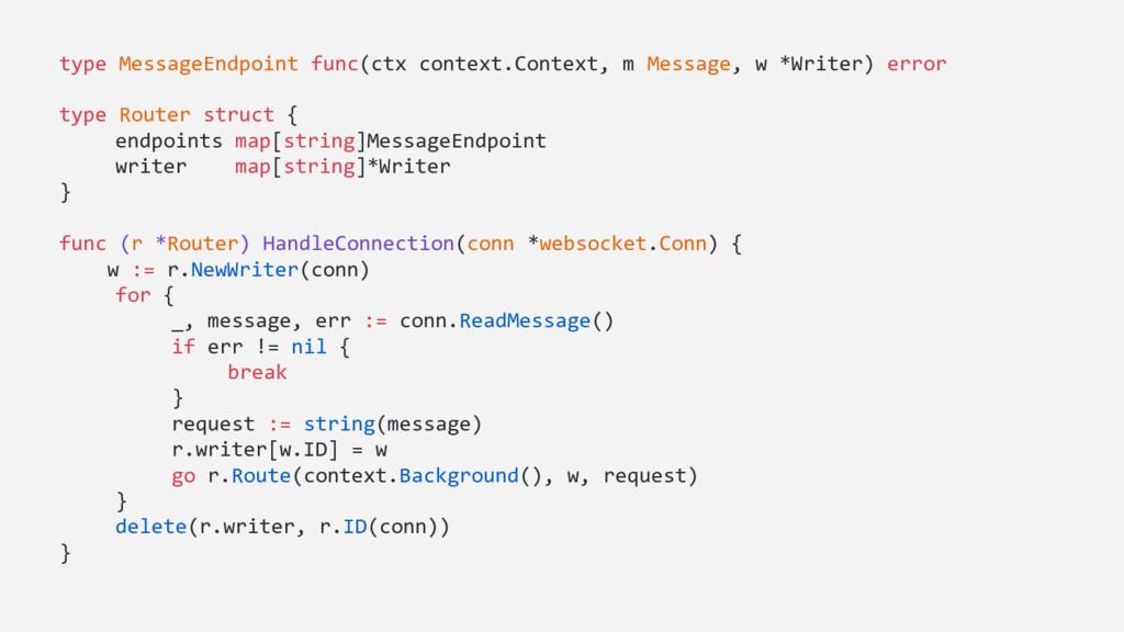 type MessageEndpoint func(ctx context.Context, ...
