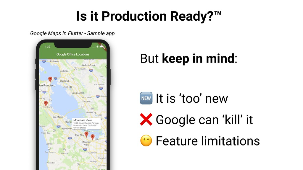 Is it Production Ready?™ But keep in mind:  It ...