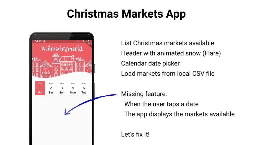 Christmas Markets App List Christmas markets av...