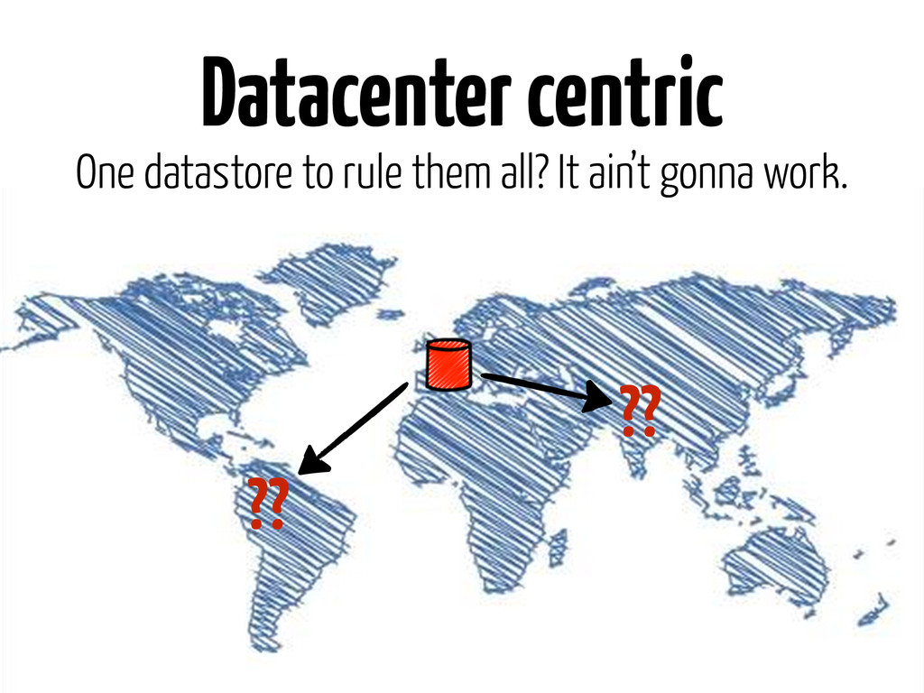 Datacenter centric One datastore to rule them a...