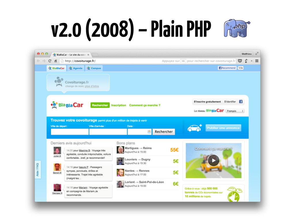 v2.0 (2008) – Plain PHP