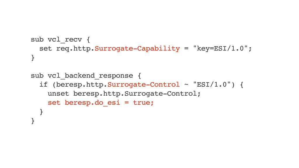 sub vcl_recv { set req.http.Surrogate-Capabilit...