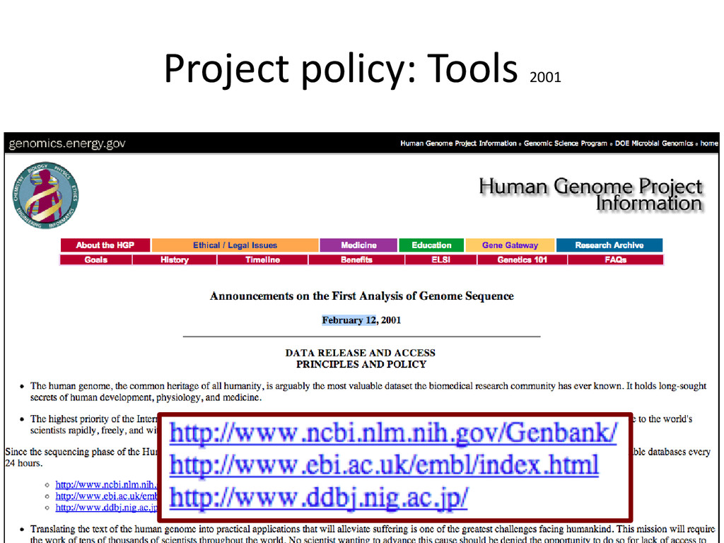 [Anlass der Präsentation] Project policy: Tools...