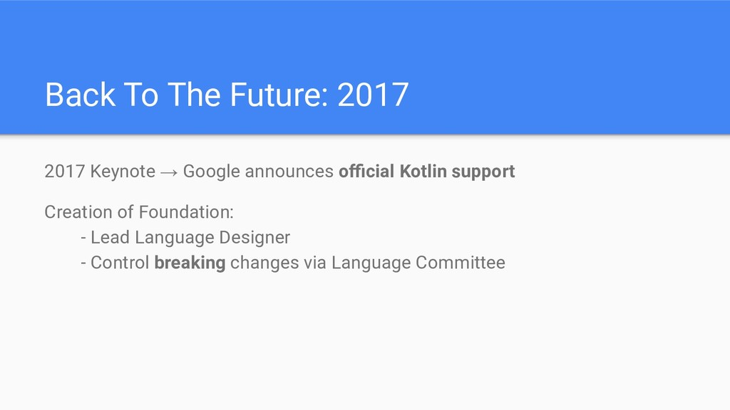 Back To The Future: 2017 2017 Keynote → Google ...