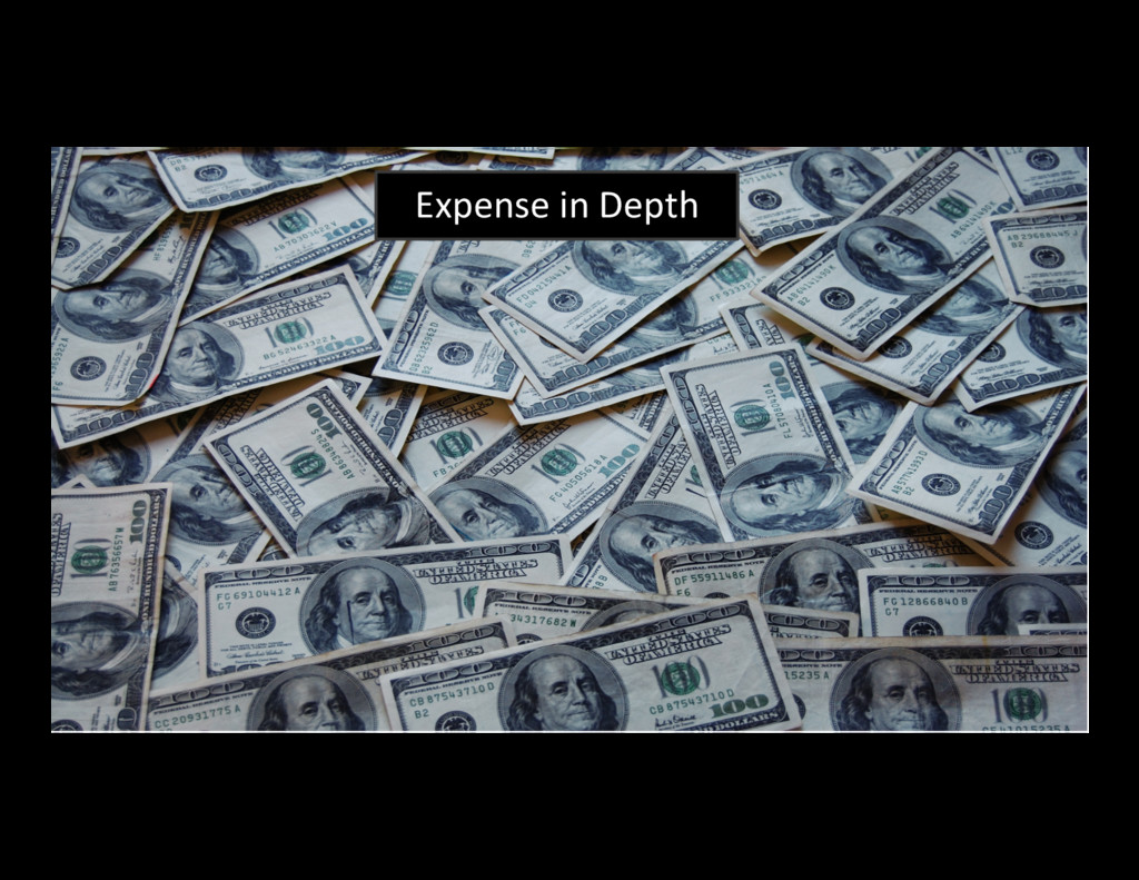 12 Expense in Depth