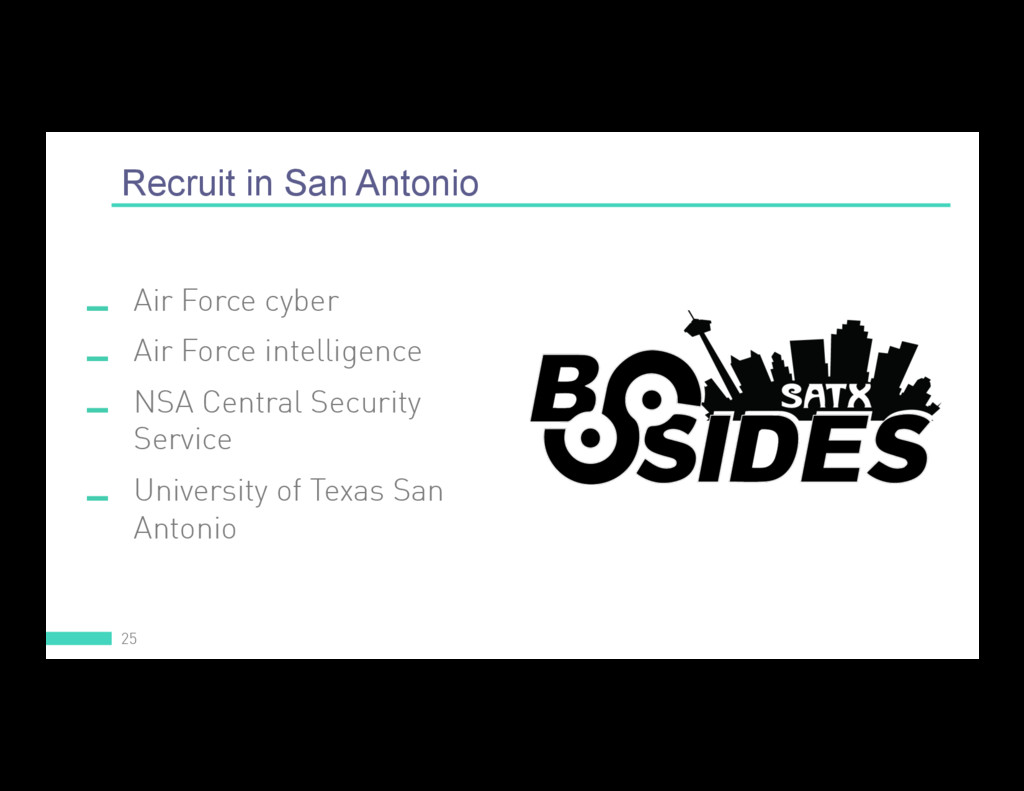 Recruit in San Antonio 25  Air Force cyber  A...