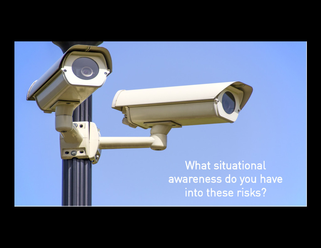 47 Collection What situational awareness do you...