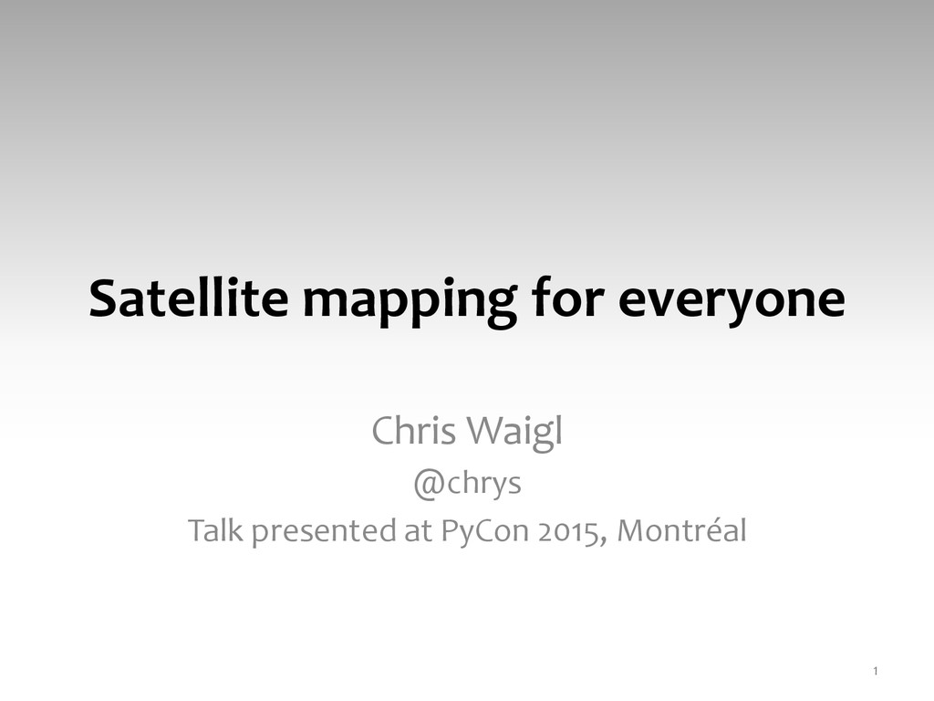 Satellite	
