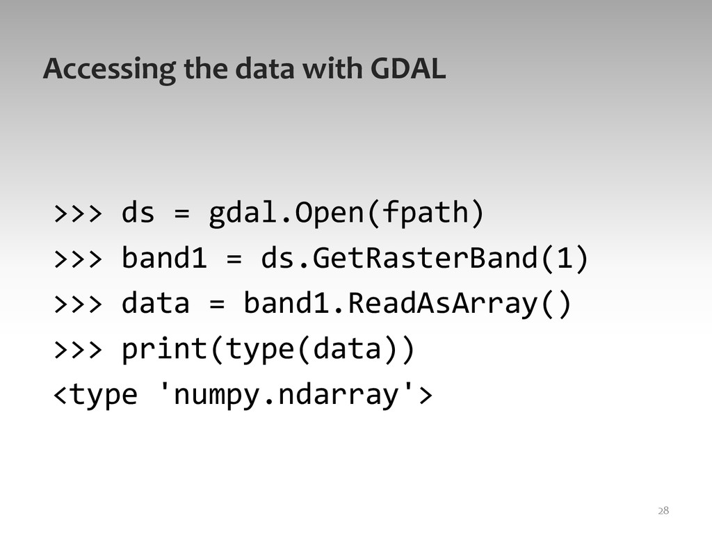 Accessing	