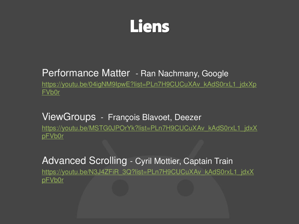 Performance Matter - Ran Nachmany, Google https...