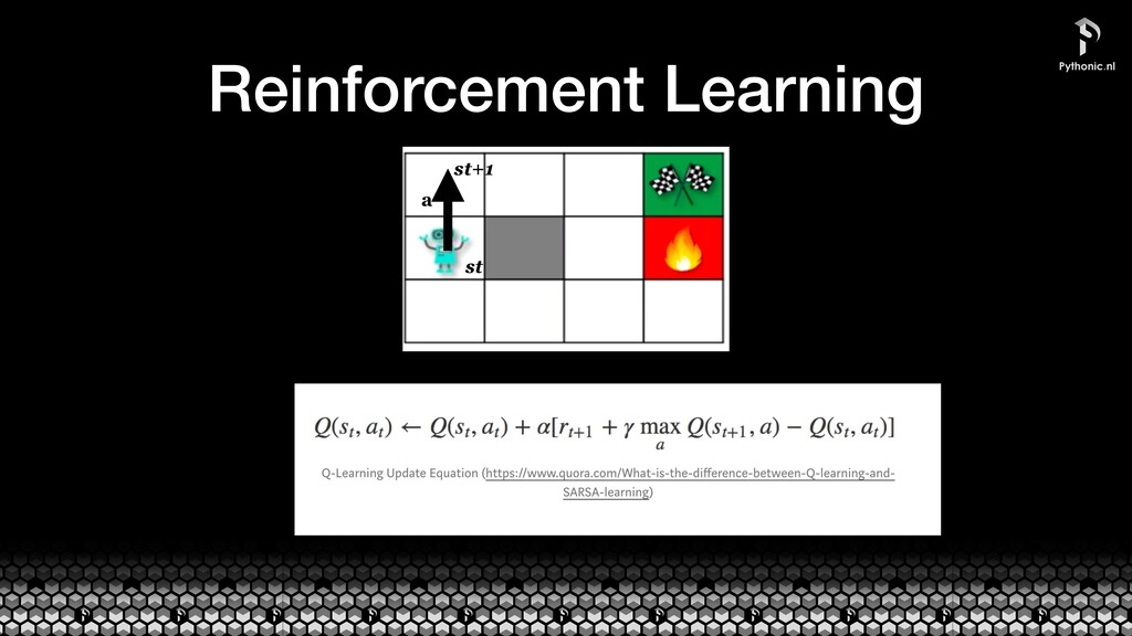Reinforcement Learning st st+1 a