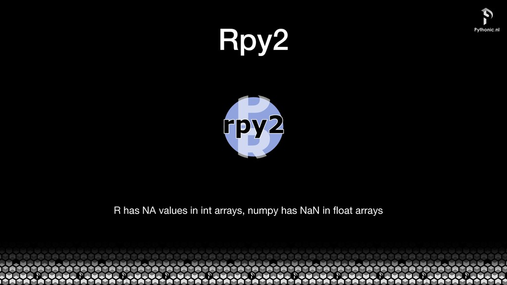 Rpy2 R has NA values in int arrays, numpy has N...