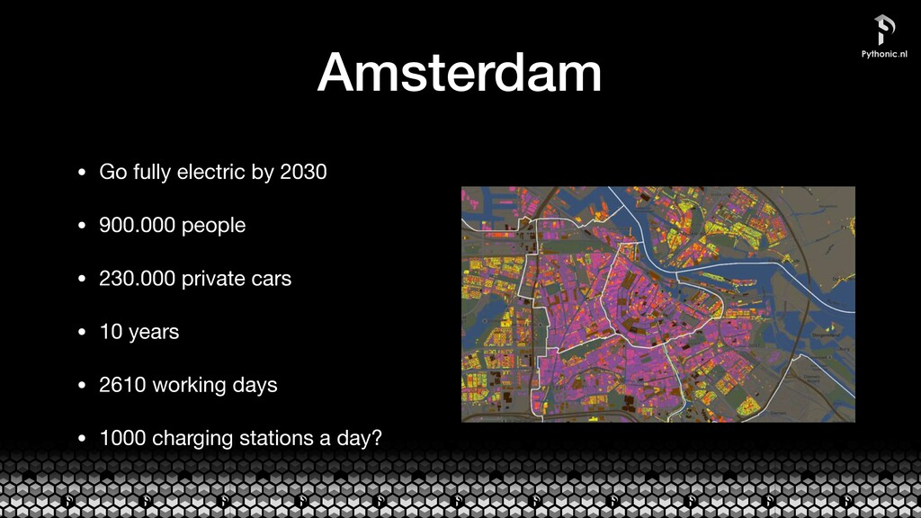 Amsterdam • Go fully electric by 2030  • 900.00...