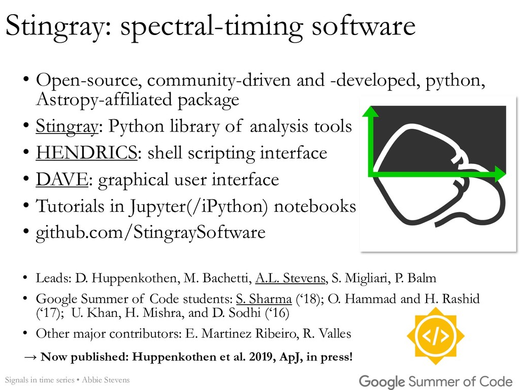 Stingray: spectral-timing software • Open-sourc...