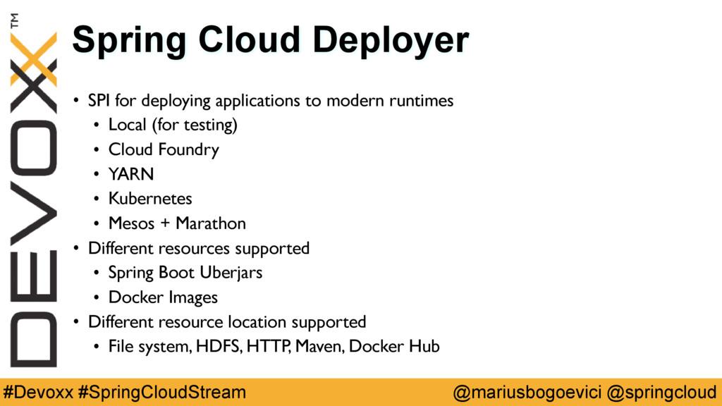 @mariusbogoevici @springcloud #Devoxx #SpringCl...