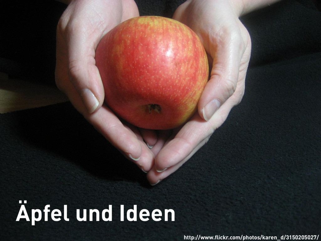 Äpfel und Ideen http://www.flickr.com/photos/kar...