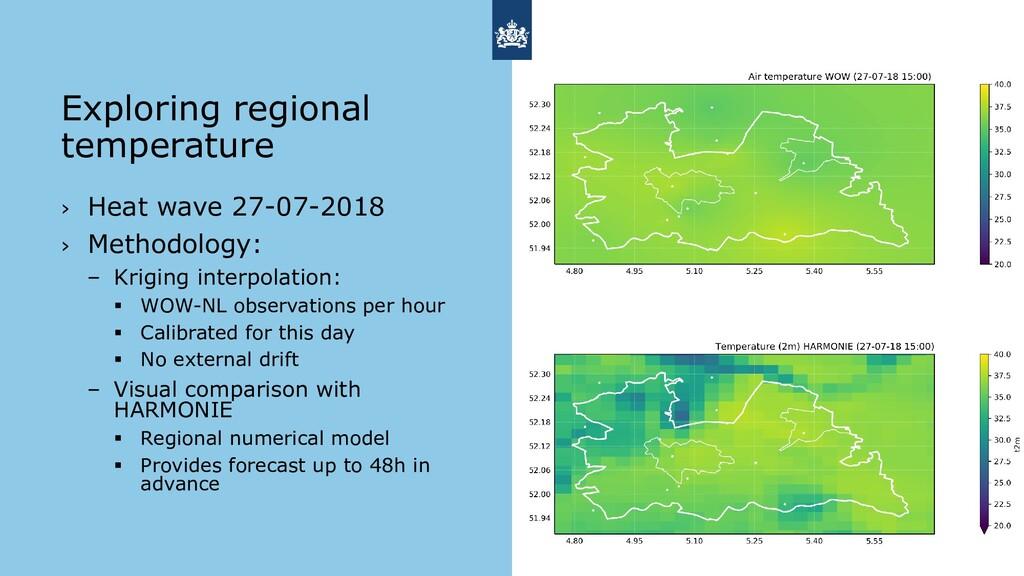 › Heat wave 27-07-2018 › Methodology: – Kriging...