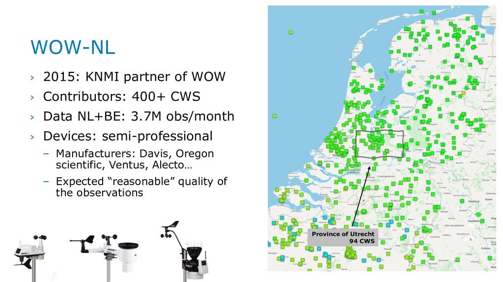 › 2015: KNMI partner of WOW › Contributors: 400...
