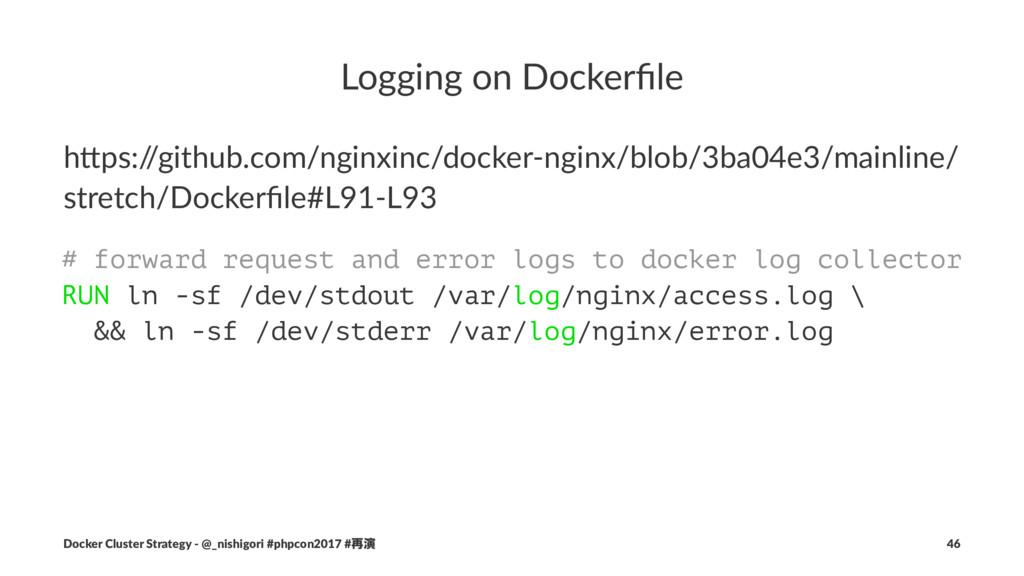 """Logging on Dockerfile h""""ps:/ /github.com/nginxin..."""