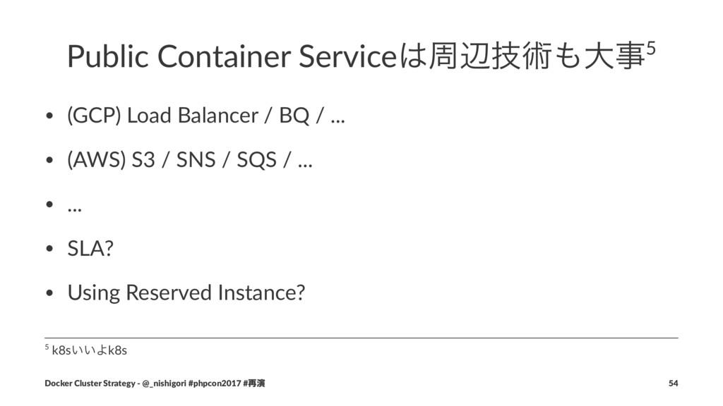 Public Container Serviceपลٕज़େ5 • (GCP) Load ...
