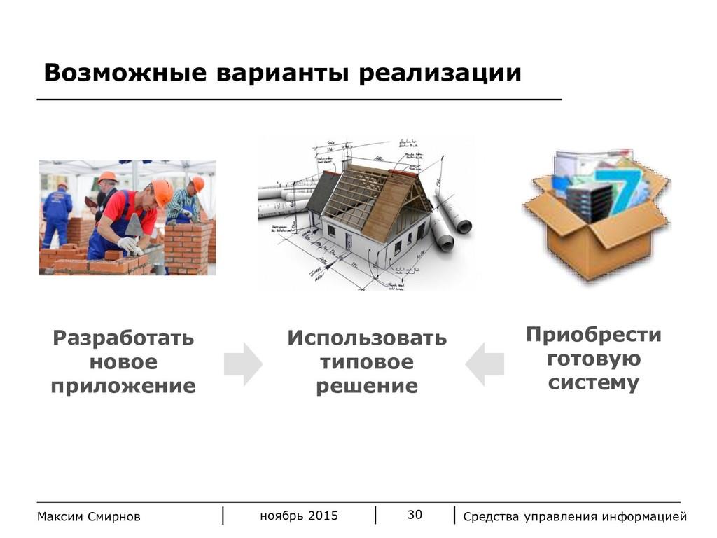 Средства управления информацией 30 Максим Смирн...