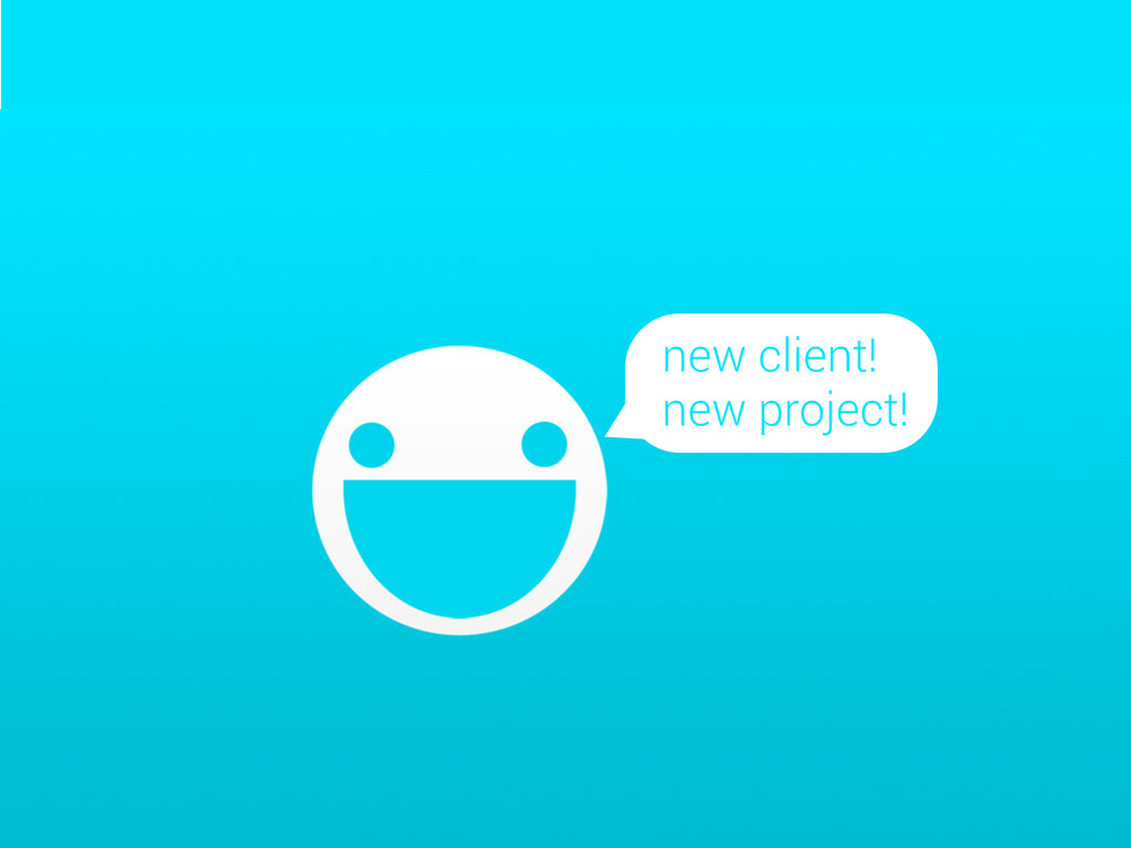 new client! new project!