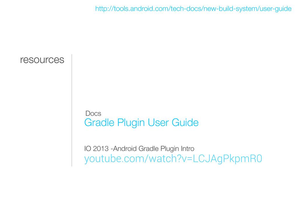 resources Gradle Plugin User Guide http://tools...