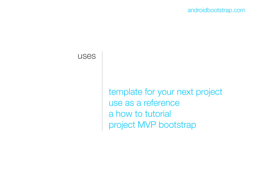 uses template for your next project use as a re...