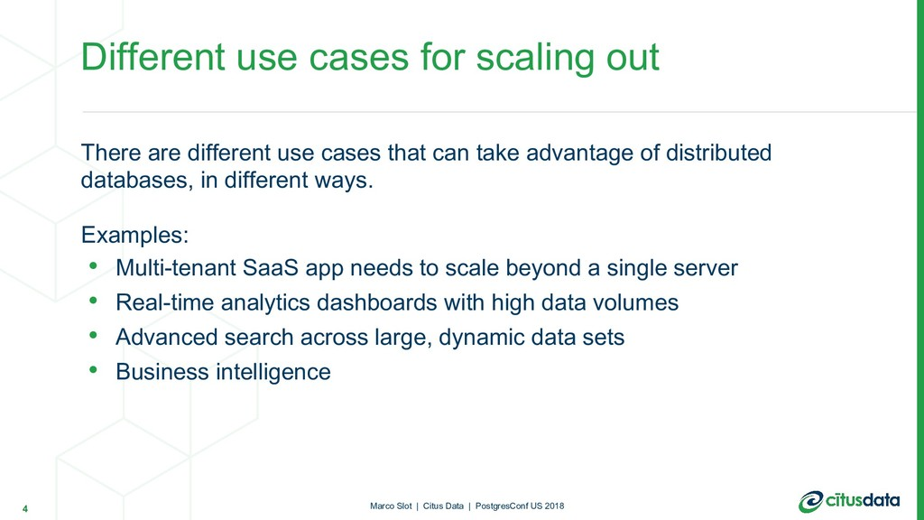 There are different use cases that can take adv...