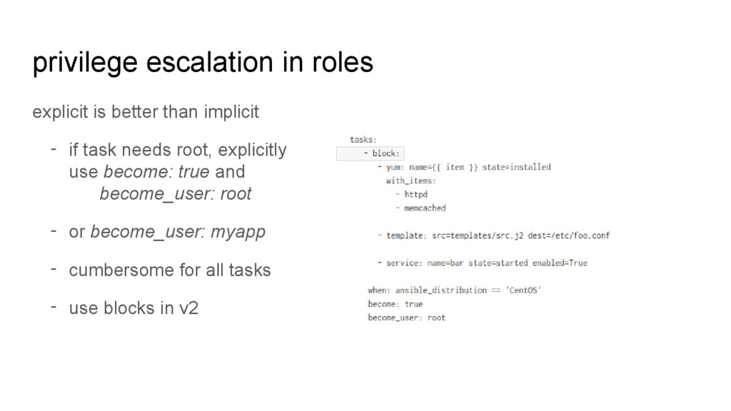 privilege escalation in roles explicit is bette...