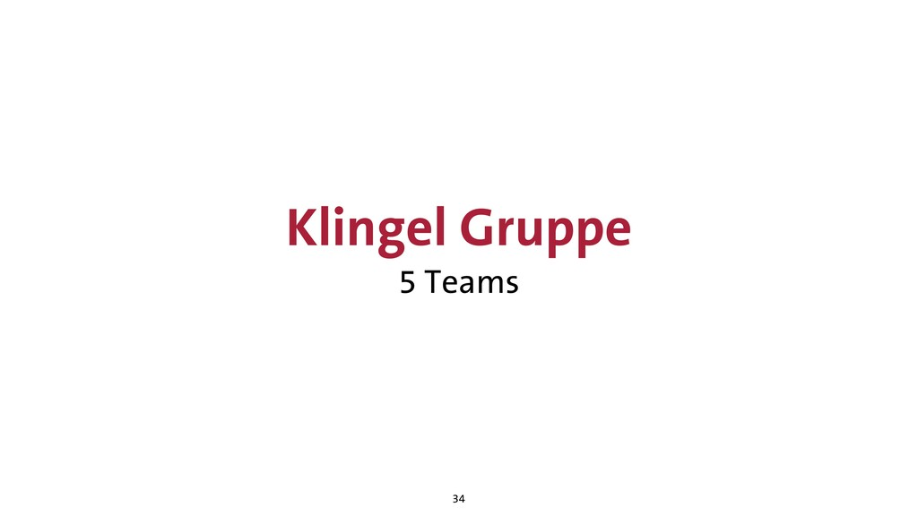 Klingel Gruppe 5 Teams 34