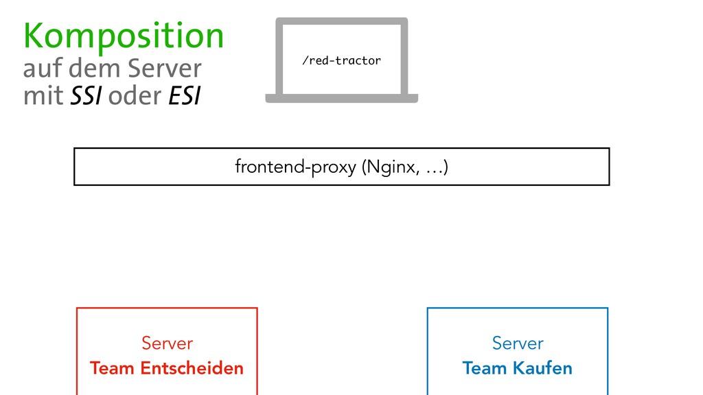 Server   Team Entscheiden frontend-proxy (Nginx...