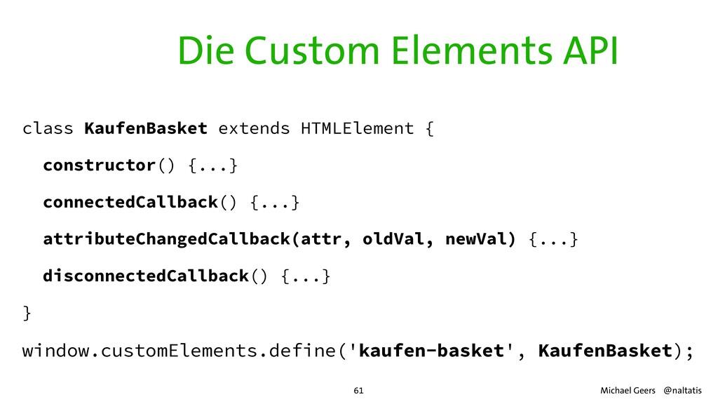 class KaufenBasket extends HTMLElement {   cons...