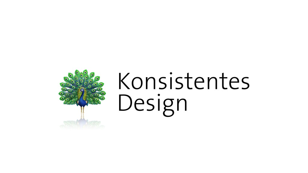 Konsistentes   Design