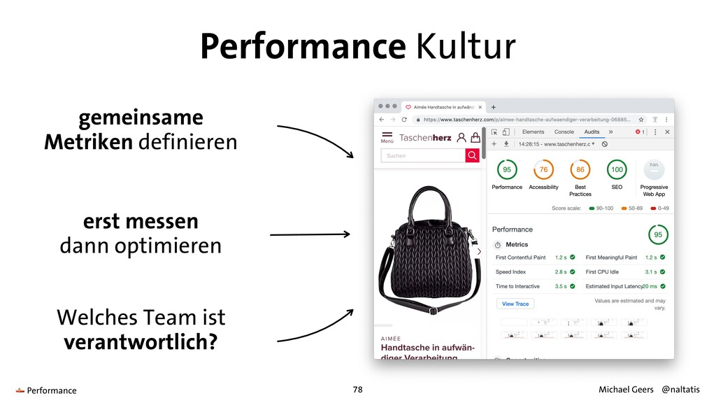 Performance Kultur erst messen   dann optimiere...