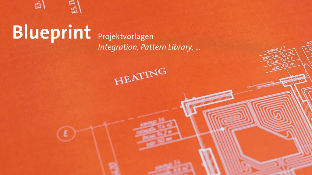 Blueprint Projektvorlagen   Integration, Patter...