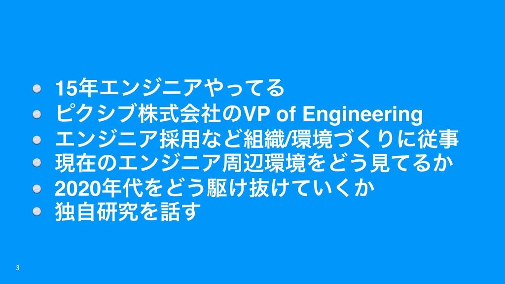 15ΤϯδχΞͬͯΔ ϐΫγϒגࣜձࣾͷVP of Engineering Τϯδ...