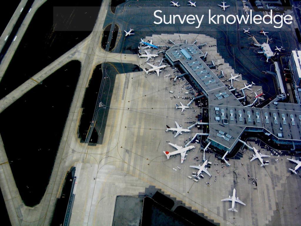 Survey knowledge