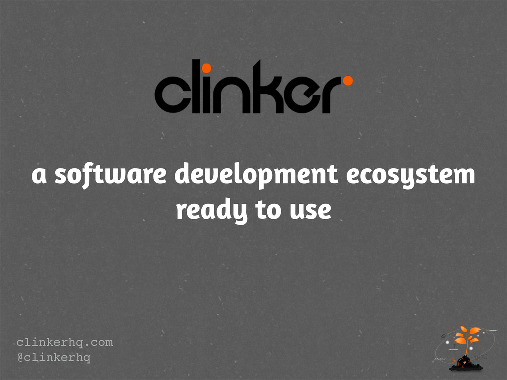 a software development ecosystem ready to use c...