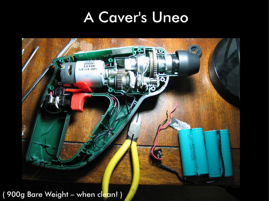 A Caver's Uneo ( 900g Bare Weight – when clean!...
