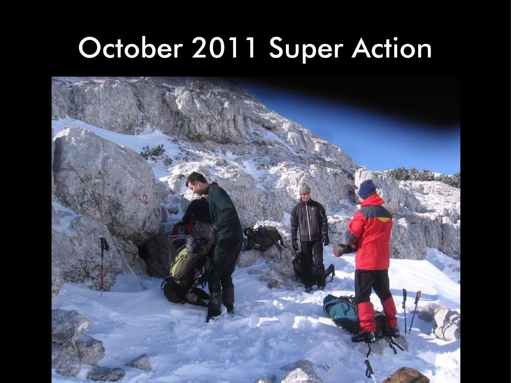 October 2011 Super Action