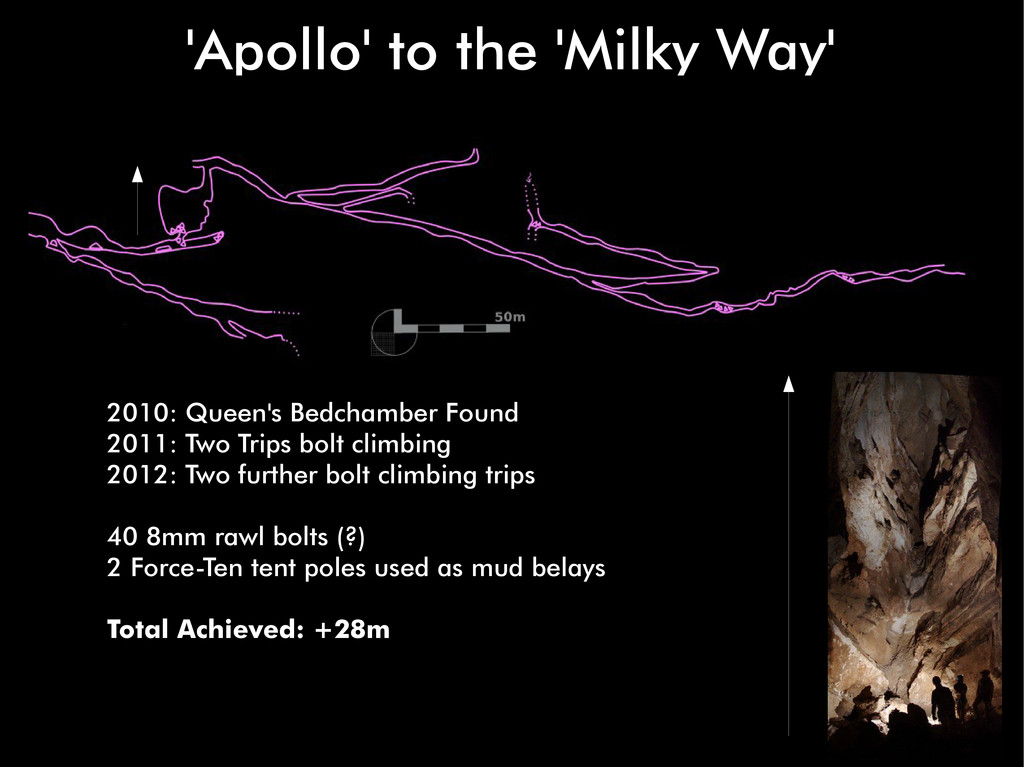 'Apollo' to the 'Milky Way' 2010: Queen's Bedch...